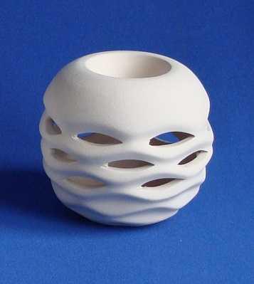 196 dalgali kure mumluk cap30 cm yukseklik8 cm 609091 14 B -Artebella Art & Craft Hobi ve Sanat Ürünleri