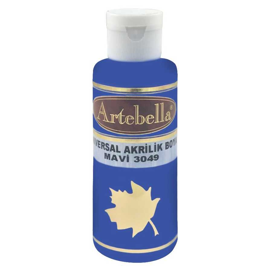 30490130 artebella universal akrilik boya 130cc mavi 612462 14 B