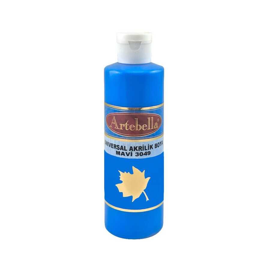 30490260 artebella universal akrilik boya 2600cc mavi 597923 14 B -Artebella Art & Craft Hobi ve Sanat Ürünleri