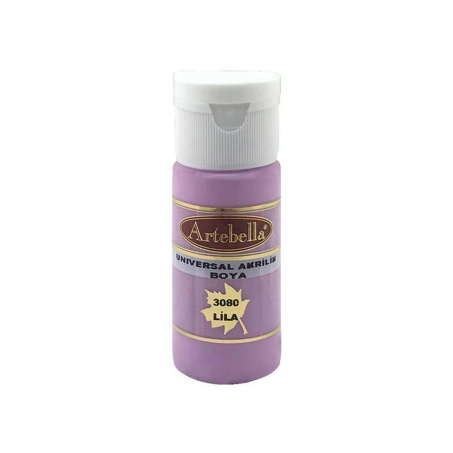 308030 artebella universal akrilik boya 30 cc lila 606232 14 B -Artebella Art & Craft Hobi ve Sanat Ürünleri