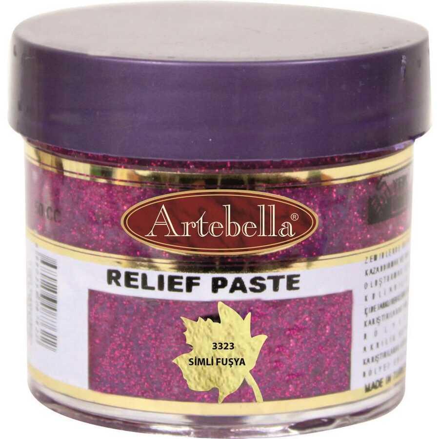 332350 artebella rolyef pasta simli fusya 50 cc 597577 15 B