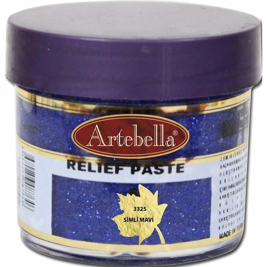 332550 artebella rolyef pasta simli mavi 50 cc 597581 15 B
