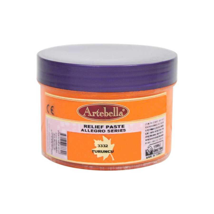 3332 artebella allegro rolyef pasta turuncu 160 cc 16398 606521 15 B