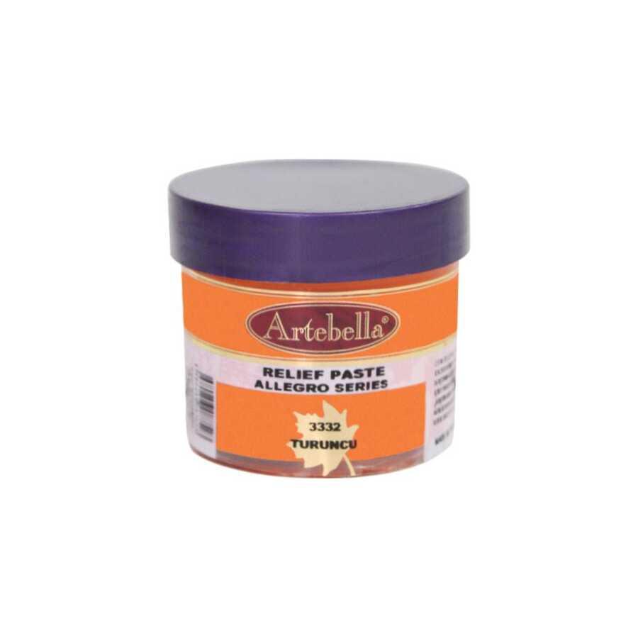 333250 artebella allegro rolyef pasta turuncu 50 cc 16417 606551 15 B