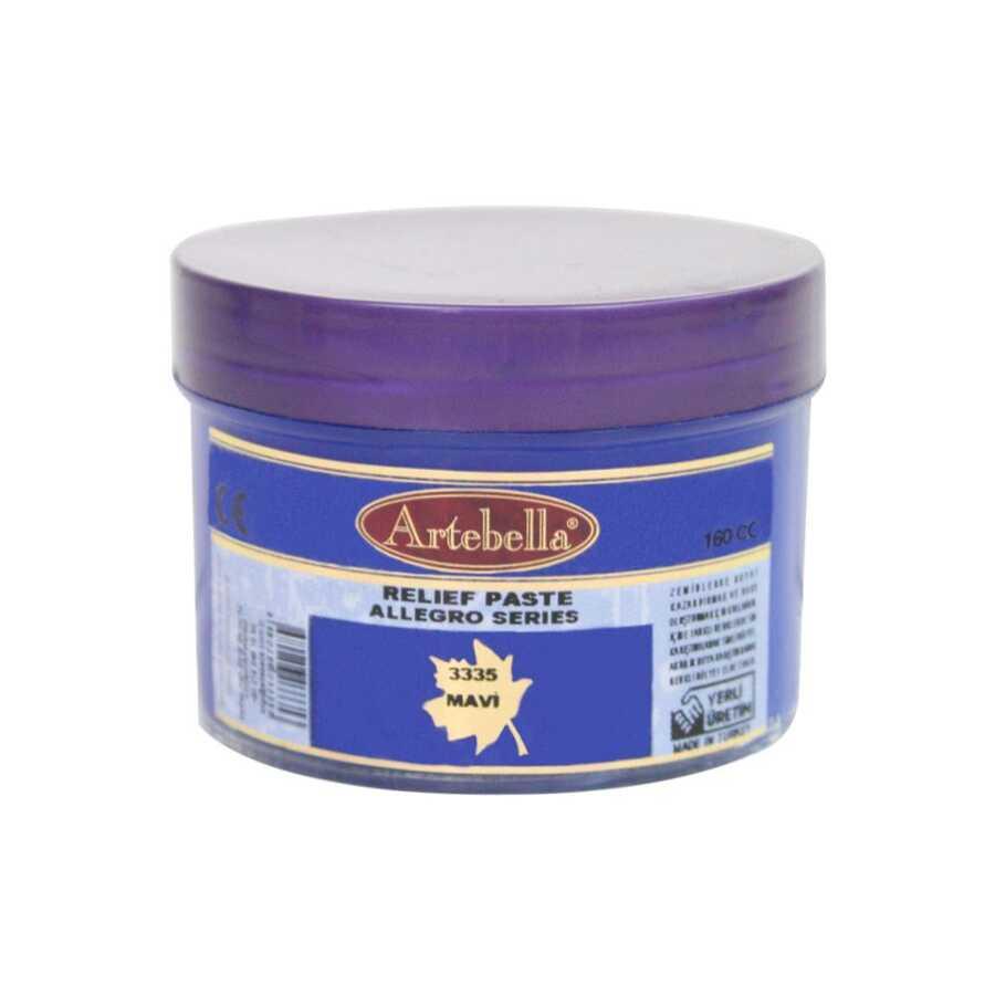 3335 artebella allegro rolyef pasta mavi 160 cc 16401 606527 15 B