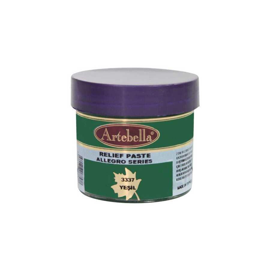 333750 artebella allegro rolyef pasta yesil 50 cc 16422 606559 15 B