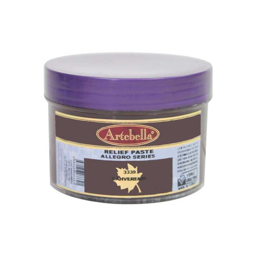 3339 artebella allegro rolyef pasta kahverengi 160 cc 16405 606535 15 B -Artebella Art & Craft Hobi ve Sanat Ürünleri