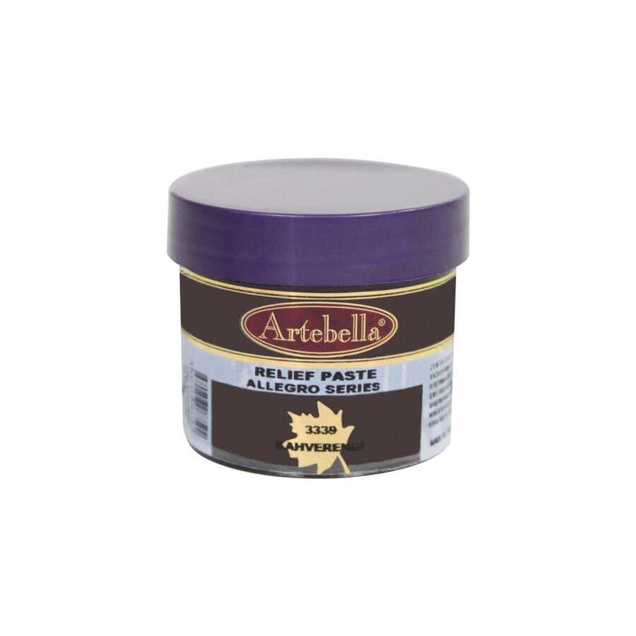 333950 artebella allegro rolyef pasta kahverengi 50 cc 16424 606563 15 B