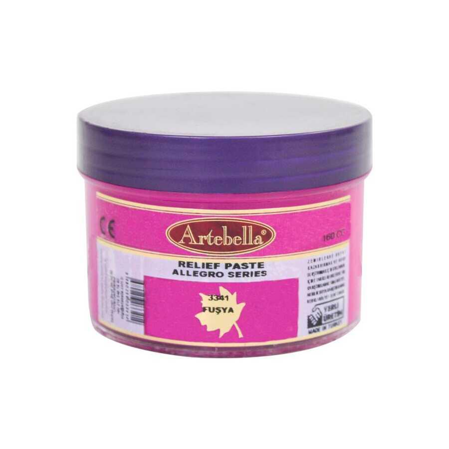 3341 artebella allegro rolyef pasta fusya 160 cc 16407 606539 15 B