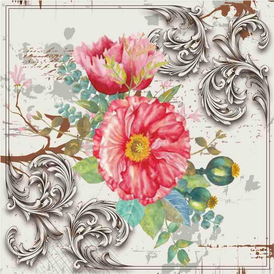 6078v mixart kolay transfer 25x25 cm 595724 14 B -Artebella Art & Craft Hobi ve Sanat Ürünleri