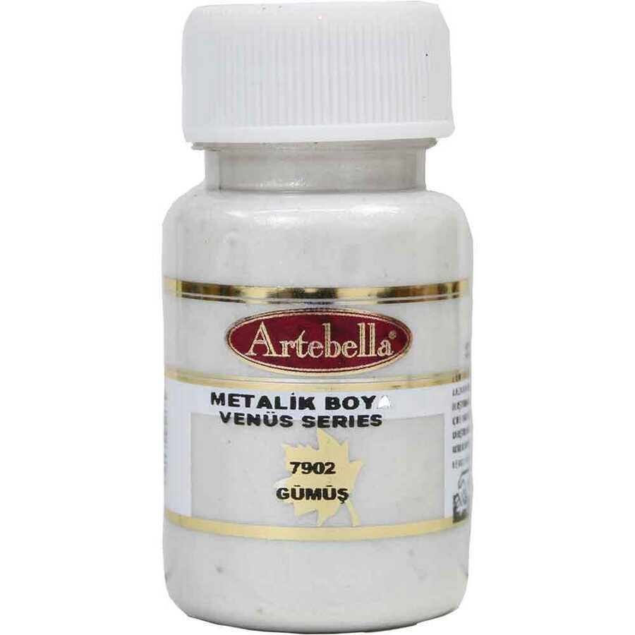 790250 artebella venus serisi metalik boya gumus 50 cc 610563 15 B -Artebella Art & Craft Hobi ve Sanat Ürünleri