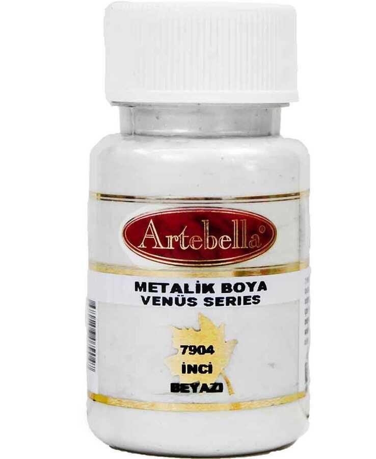 790450 artebella venus serisi metalik boya inci beyazi 50 cc 610567 15 B -Artebella Art & Craft Hobi ve Sanat Ürünleri