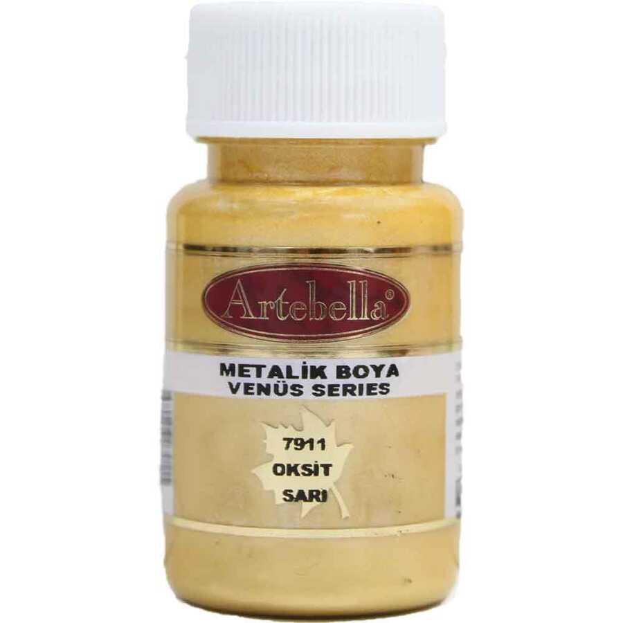 791150 artebella venus serisi metalik boya oksit sari 50 cc 610579 15 B -Artebella Art & Craft Hobi ve Sanat Ürünleri