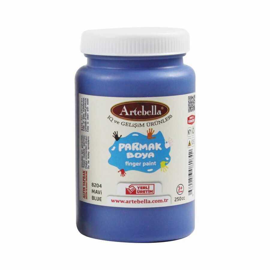 8204250 artebella parmak boya 250 cc mavi 597775 15 B -Artebella Art & Craft Hobi ve Sanat Ürünleri