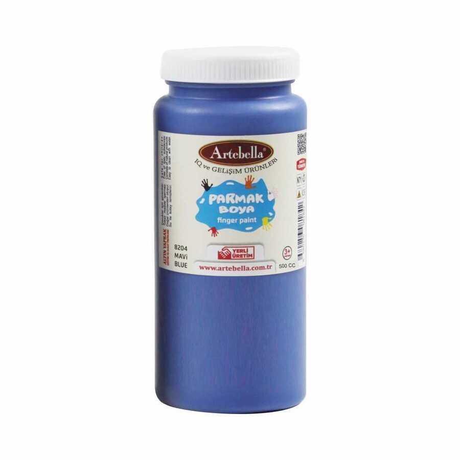 8204500 artebella parmak boya 500 cc mavi 597753 15 B -Artebella Art & Craft Hobi ve Sanat Ürünleri