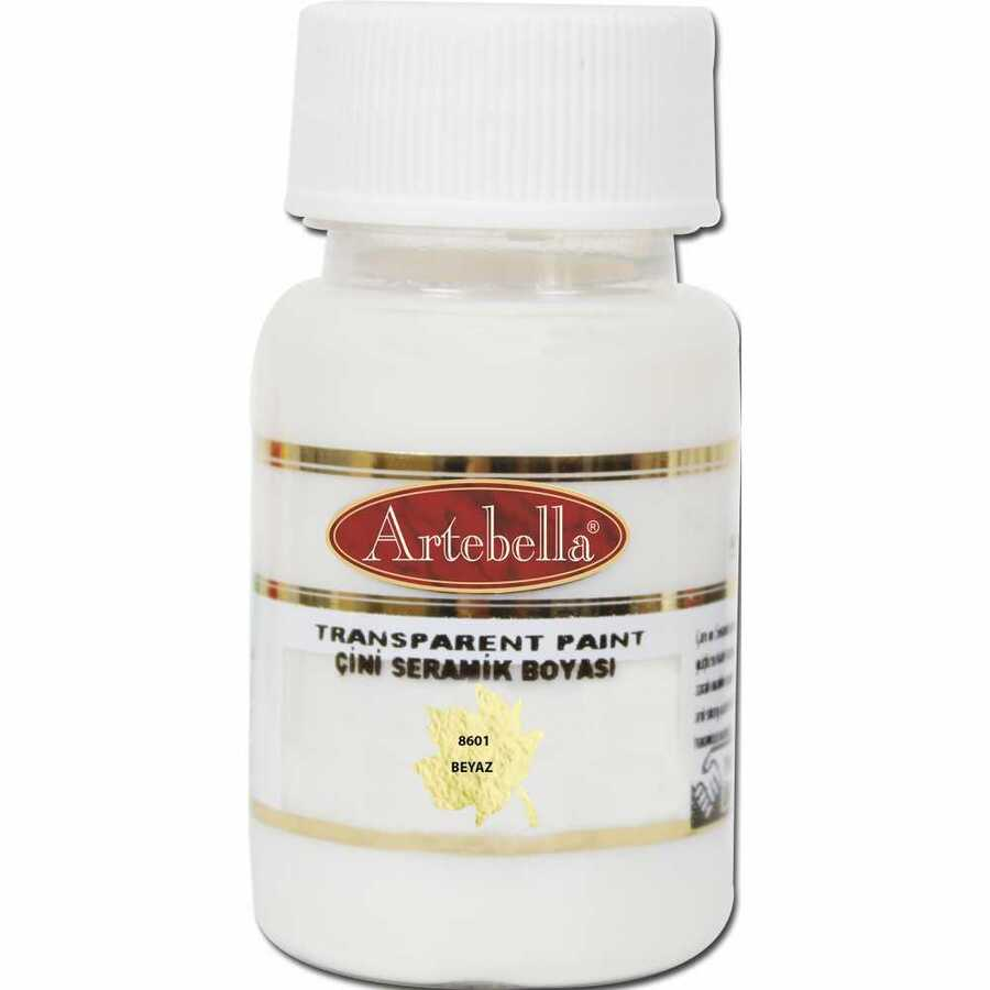 860150 artebella transparan cini seramik boyasi 50 cc beyaz 606683 15 B