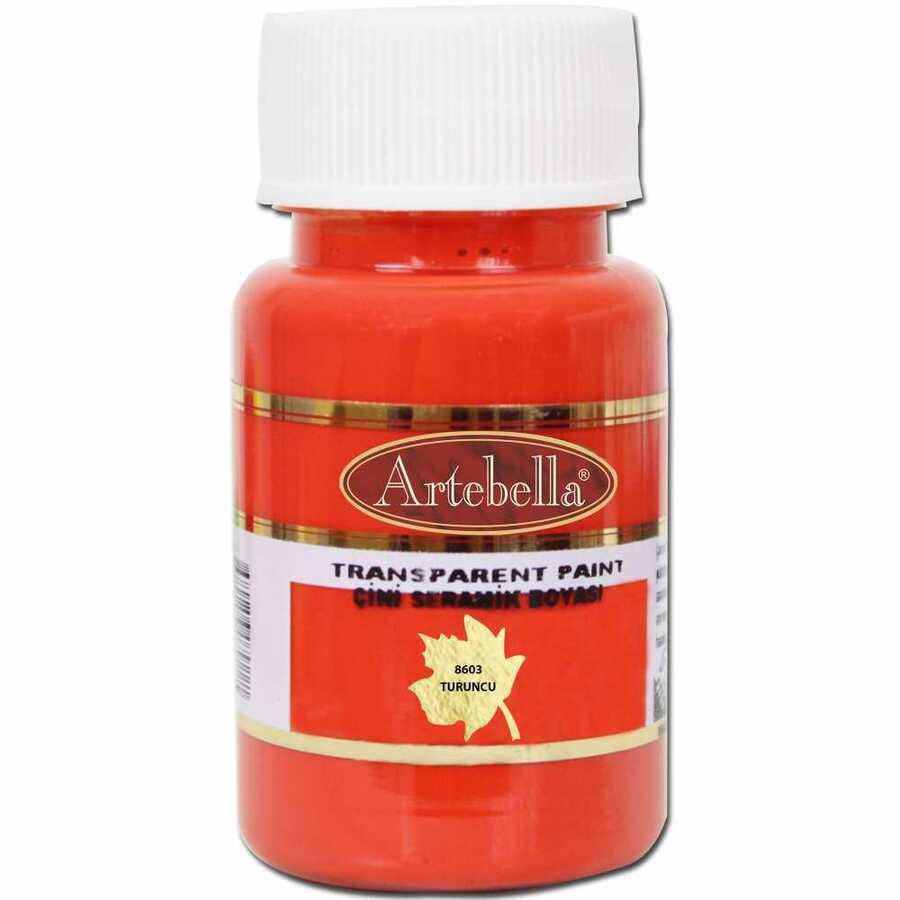 860350 artebella transparan cini seramik boyasi 50 cc turuncu 606687 15 B