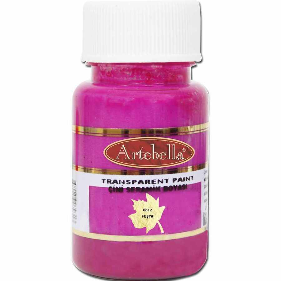 861250 artebella transparan cini seramik boyasi 50 cc fusya 606703 15 B
