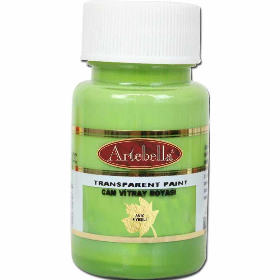 881050 artebella transparan cam vitray boyasi 50 cc fistik yesili 606735 15 B -Artebella Art & Craft Hobi ve Sanat Ürünleri