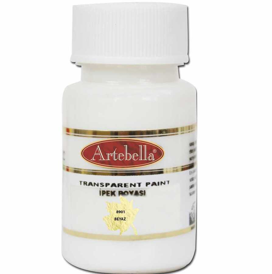 890150 artebella transparan ipek boyasi 50 cc beyaz 606741 15 B