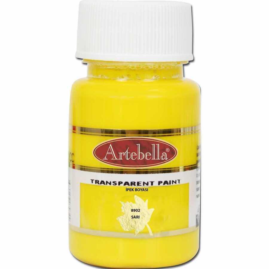 890250 artebella transparan ipek boyasi 50 cc sari 606755 15 B -Artebella Art & Craft Hobi ve Sanat Ürünleri