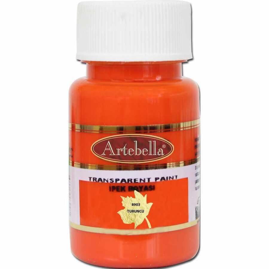 890350 artebella transparan ipek boyasi 50 cc turuncu 606757 15 B