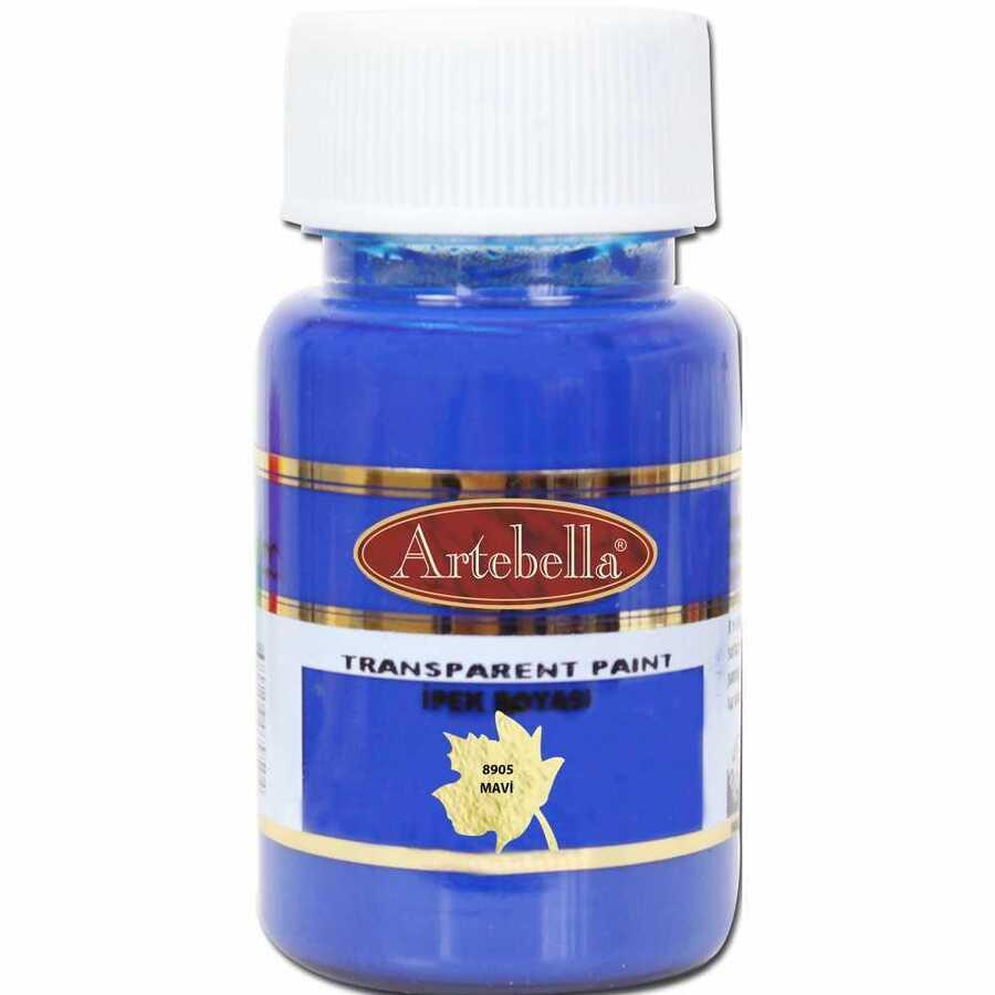 890550 artebella transparan ipek boyasi 50 cc mavi 606761 15 B -Artebella Art & Craft Hobi ve Sanat Ürünleri