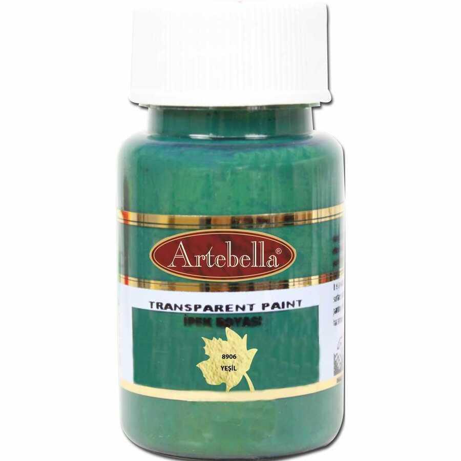 890650 artebella transparan ipek boyasi 50 cc yesil 606763 15 B -Artebella Art & Craft Hobi ve Sanat Ürünleri