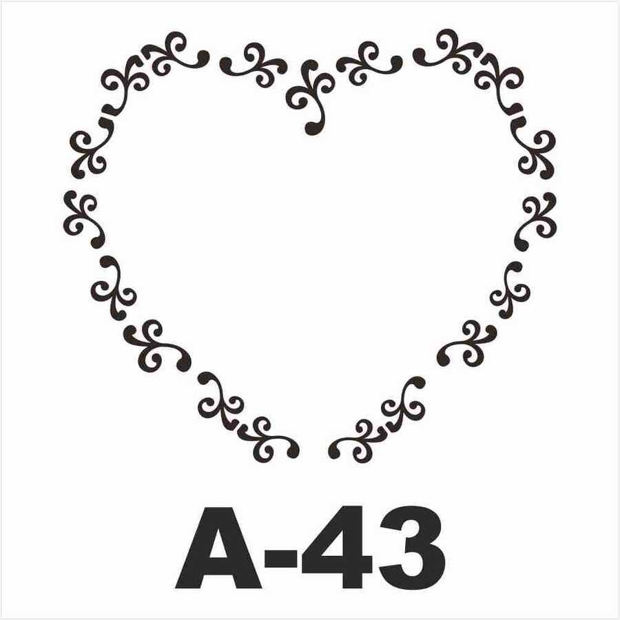 a 43 artebella stencil 20x20 cm 597050 14 B