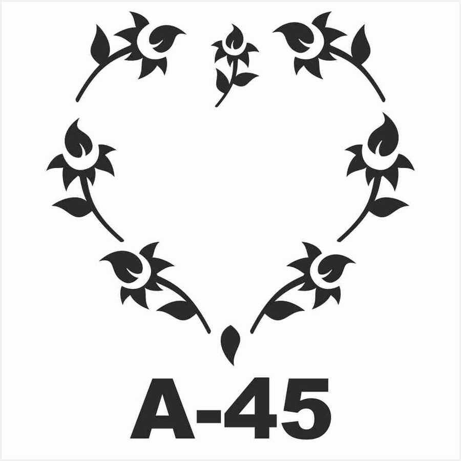 a 45 artebella stencil 20x20 cm 606401 14 B