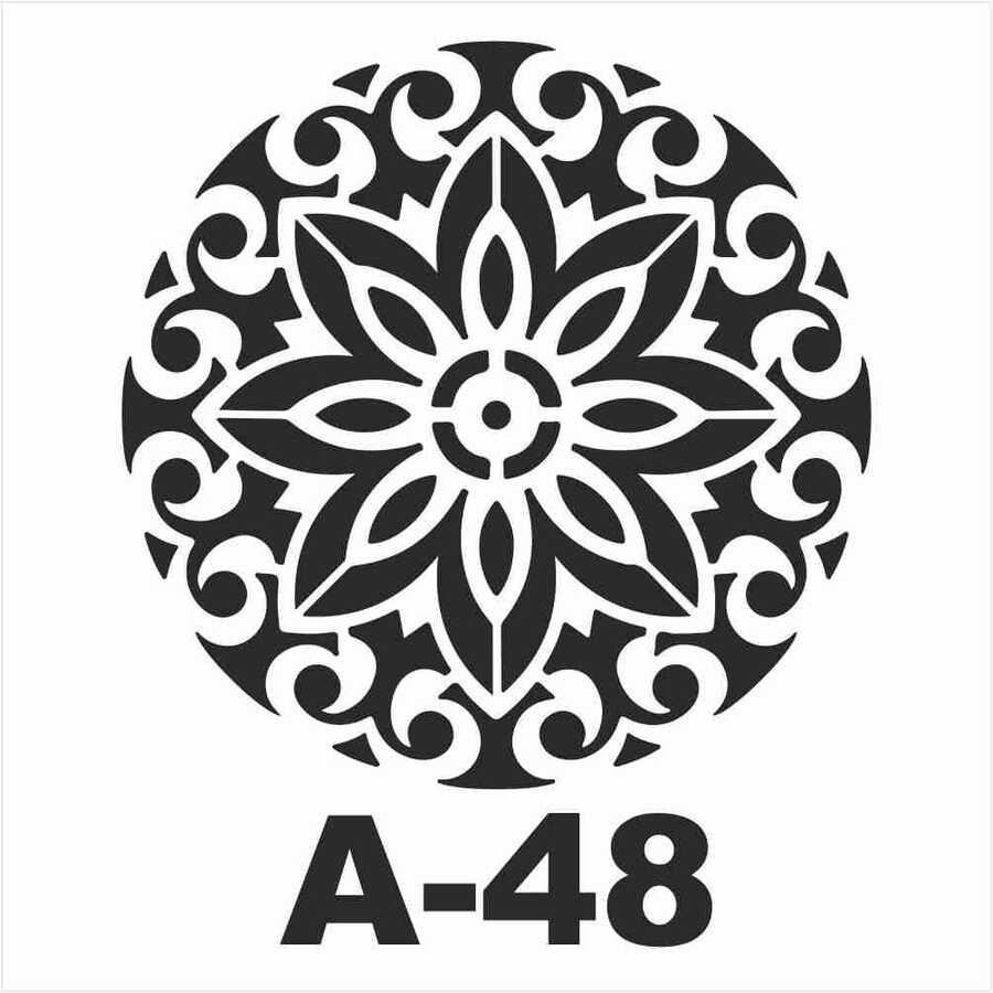 a 48 artebella stencil 20x20 cm 606405 14 B