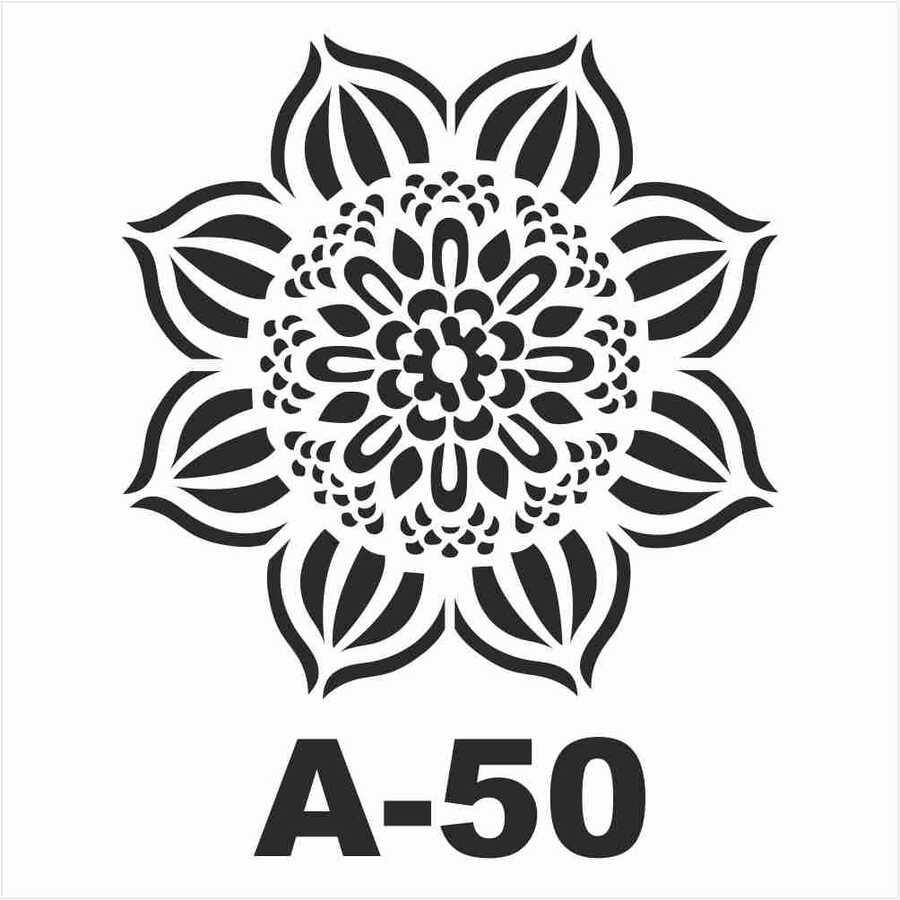 a 50 artebella stencil 20x20 cm 609628 14 B