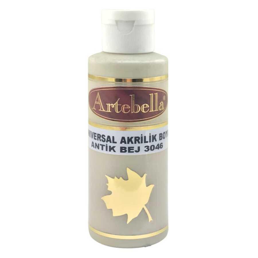 antik bej rengi boya 130 cc 607972 83 B -Artebella Art & Craft Hobi ve Sanat Ürünleri