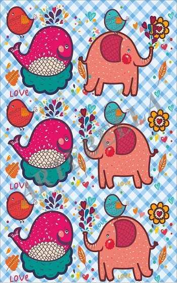 artebella 019 kids dekupaj kagidi 225x32 cm 596835 40 B -Artebella Art & Craft Hobi ve Sanat Ürünleri