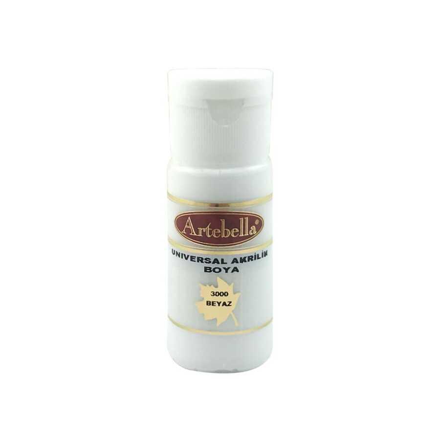 artebella 3000 beyaz 30 cc opak boya 26 609350 45 B
