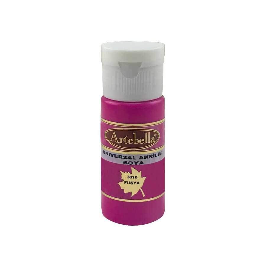 artebella 3016 fusya 30 cc opak boya 609862 45 B -Artebella Art & Craft Hobi ve Sanat Ürünleri