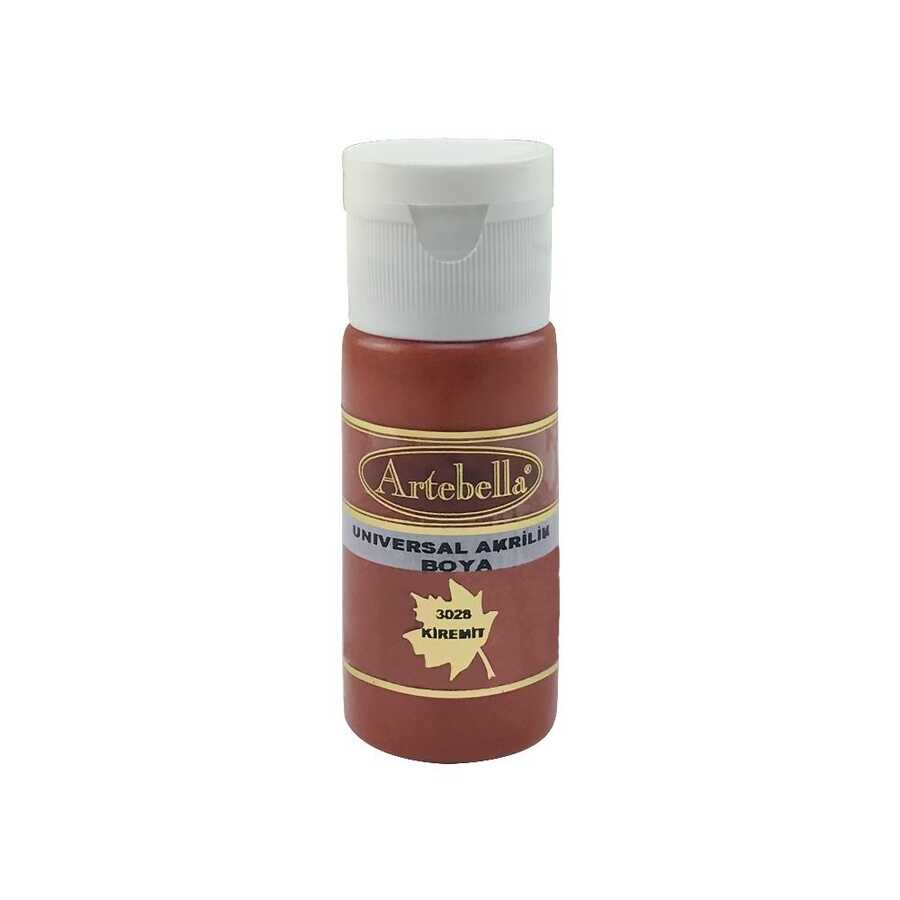 artebella 3028 kiremit 130 cc opak boya 605668 45 B -Artebella Art & Craft Hobi ve Sanat Ürünleri