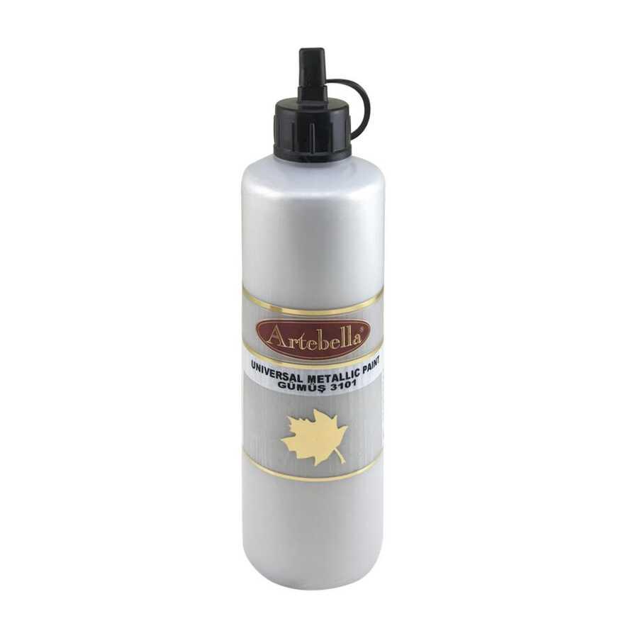 artebella 3101 gumus 700 cc metalik boya 597966 12 B -Artebella Art & Craft Hobi ve Sanat Ürünleri