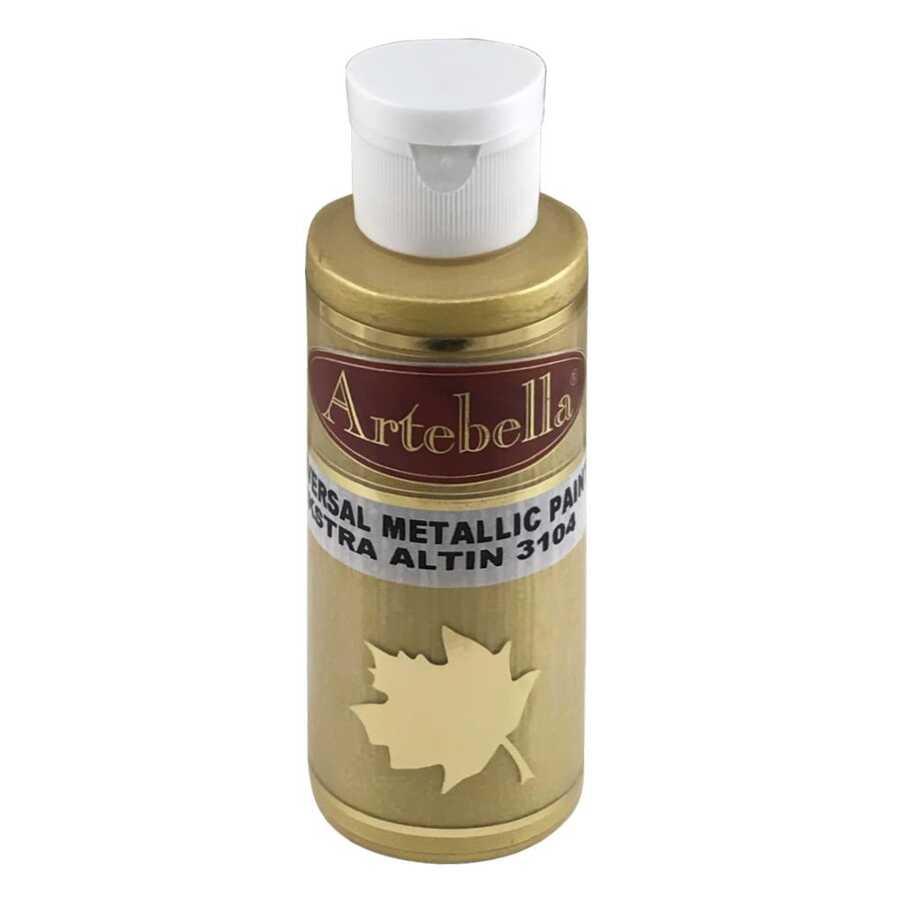 artebella 3104 ekstra metalik boya altin 130 cc artebella ekstra metalik boya artebella 607857 16 B -Artebella Art & Craft Hobi ve Sanat Ürünleri