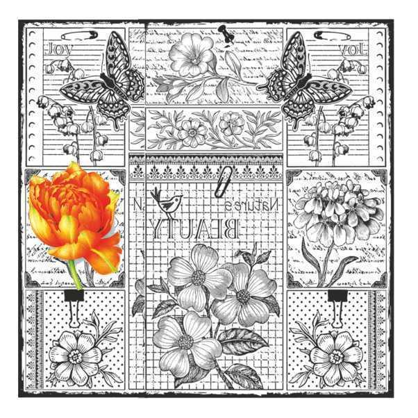 artebella 5836v home design 25x25 cm acik zeminde uygulanir 610891 13 B -Artebella Art & Craft Hobi ve Sanat Ürünleri