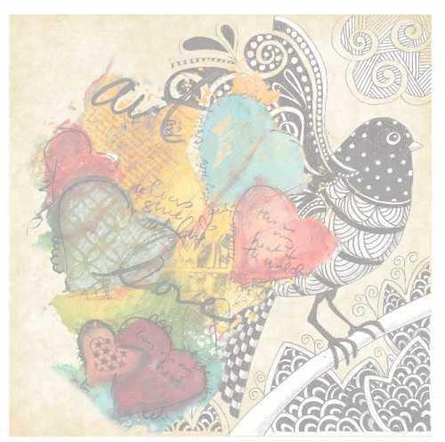artebella 6072k mixart kolay transfer 25x25 cm koyu zeminde uygulanir 602083 13 B -Artebella Art & Craft Hobi ve Sanat Ürünleri