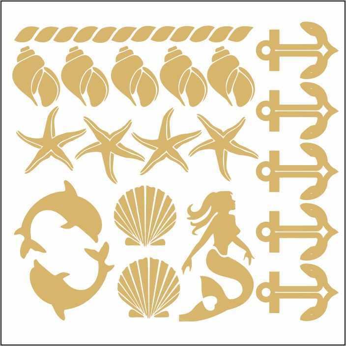 artebella 7301 gold kolay transfer 16x16 cm 10 598775 13 B