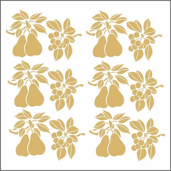 artebella 7301 gold kolay transfer 16x16 cm 13 598779 13 B -Artebella Art & Craft Hobi ve Sanat Ürünleri