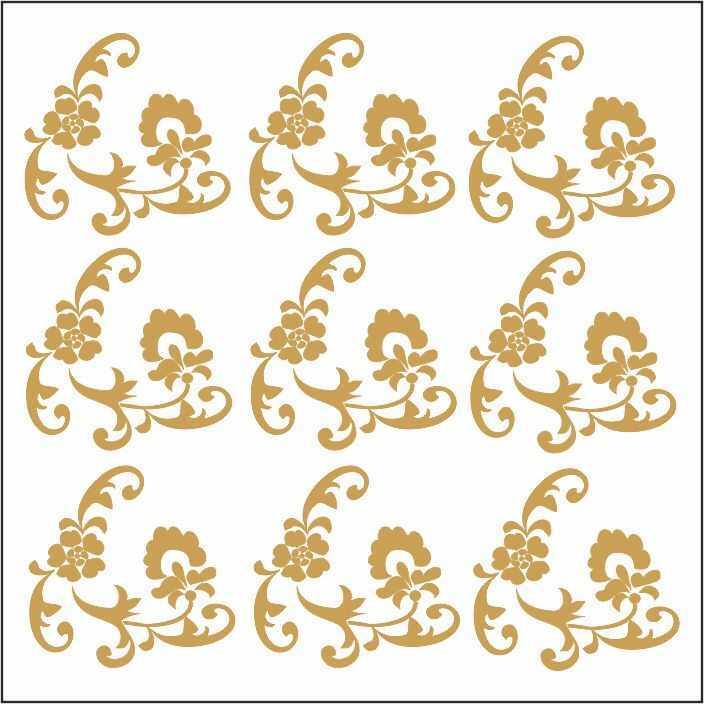artebella 7301 gold kolay transfer 16x16 cm 21 609463 13 B -Artebella Art & Craft Hobi ve Sanat Ürünleri