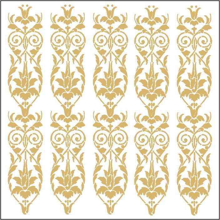 artebella 7301 gold kolay transfer 16x16 cm 27 598793 13 B -Artebella Art & Craft Hobi ve Sanat Ürünleri