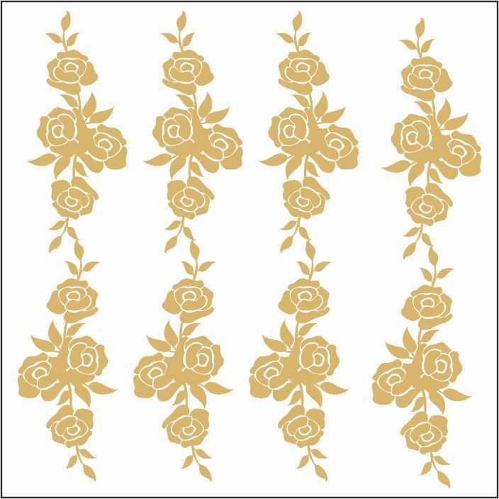 artebella 7301 gold kolay transfer 16x16 cm 28 605911 13 B -Artebella Art & Craft Hobi ve Sanat Ürünleri