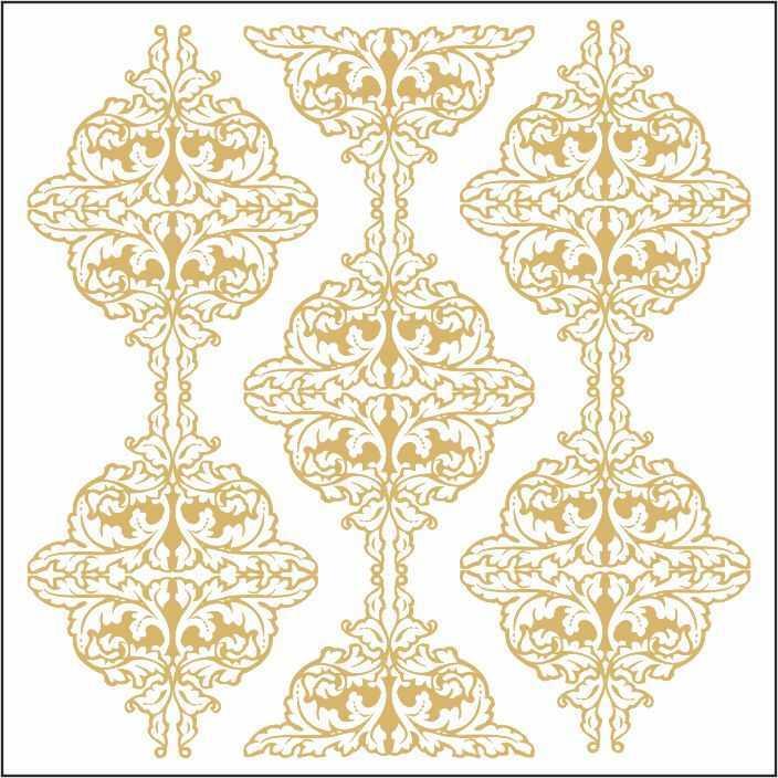 artebella 7301 gold kolay transfer 16x16 cm 29 609465 13 B