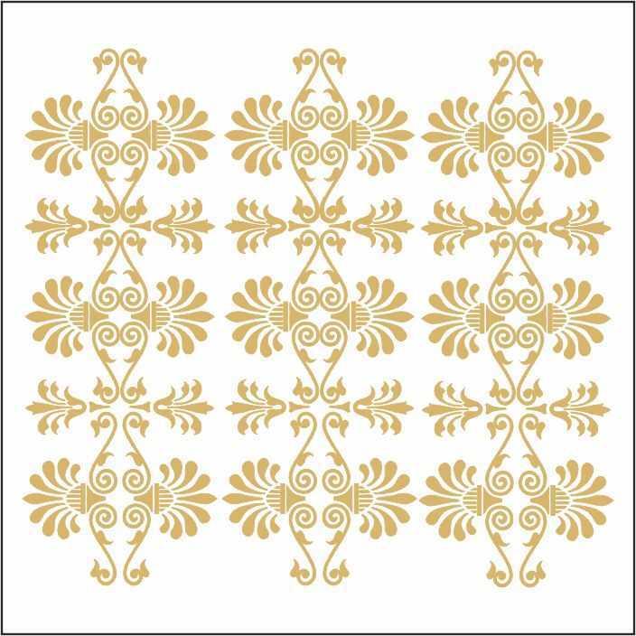 artebella 7301 gold kolay transfer 16x16 cm 31 608043 13 B -Artebella Art & Craft Hobi ve Sanat Ürünleri