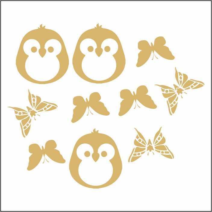 artebella 7301 gold kolay transfer 16x16 cm 4 598763 13 B -Artebella Art & Craft Hobi ve Sanat Ürünleri