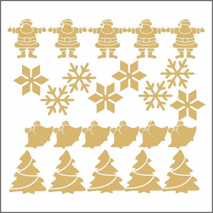 artebella 7301 gold kolay transfer 16x16 cm 7 598769 13 B -Artebella Art & Craft Hobi ve Sanat Ürünleri